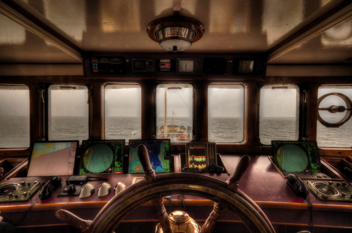 A Wheelhouse and the Unknown Dissertation Ocean